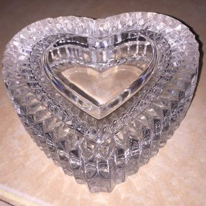 Other - Lead crystal heart case